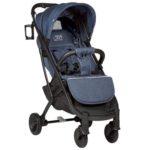 Прогулочная коляска SWEET BABY Compatto denim прогулочная коляска sweet baby suburban compatto black