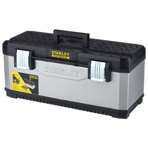Ящик STANLEY FatMax 1-95-617 66.2x29.3x29.5 см серый/черный ящик тележка stanley 1 94 210 fatmax mobile work station cantilever 52x38x73 см черный