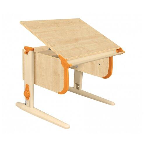 Купить Стол ДЭМИ СУТ-24 75x55 см клен/оранжевый/бежевый, Парты и столы