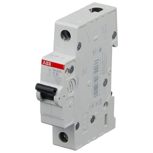 Автоматический выключатель ABB SH201L 1P (C) 4,5kA 10 А автоматический модульный выключатель abb 2п c sh202l 4 5ка 16а 2cds242001r0164