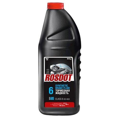 Тормозная жидкость ROSDOT DOT-4 (Class 6) Advanced ABS Formula 0.91 л