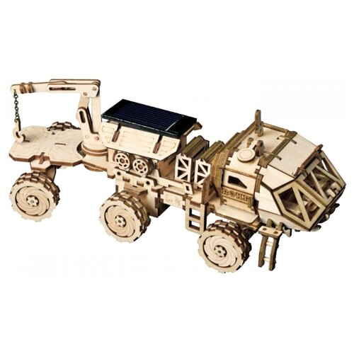 Купить 3D деревянный конструктор Robotime Ровер Навитас, Сборные модели