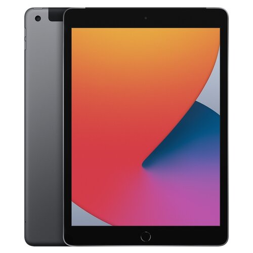 Планшет Apple iPad (2020) 128Gb Wi-Fi + Cellular space grey планшет apple ipad 10 2 2020 wi fi cellular 32gb space grey mymh2ru a