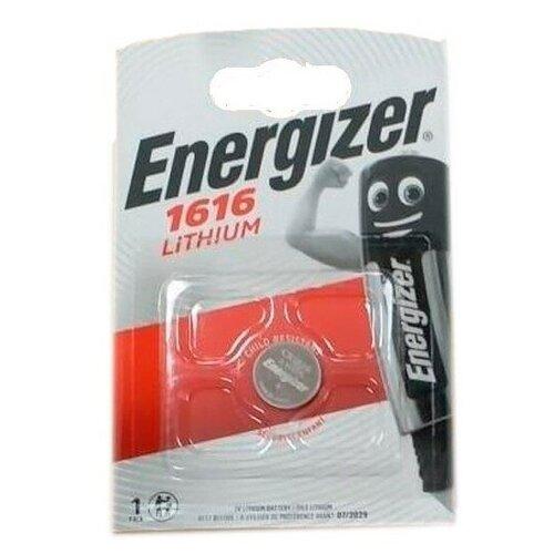 Фото - Батарейка ENERGIZER СR1616 2 шт серебряно цинковая батарейка для часов energizer 371 2 шт