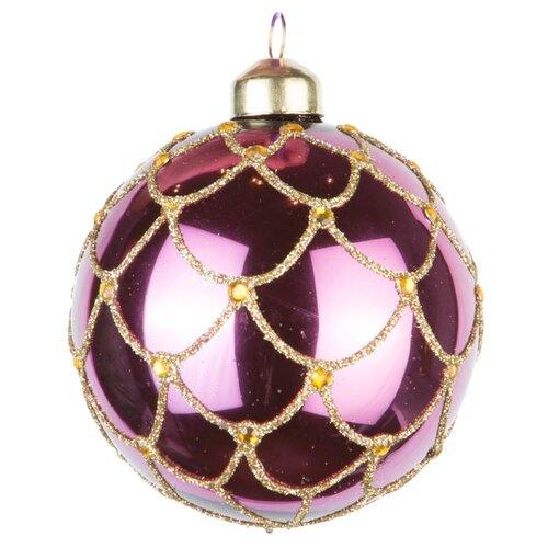 Набор шаров KARLSBACH 08338, фиолетовый