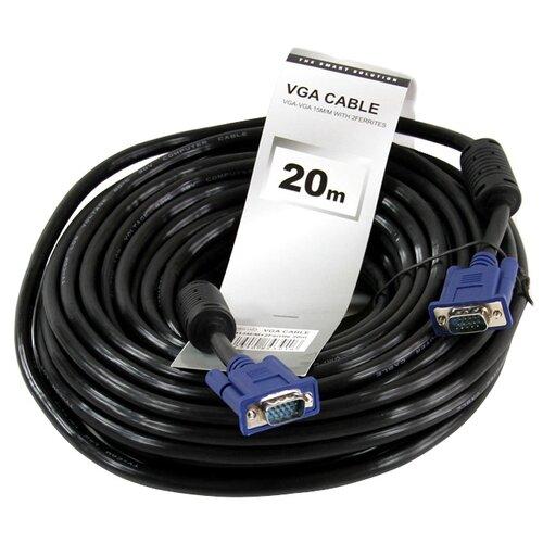 Купить Кабель Telecom SVGA - SVGA (QCG341AD) 20 м черный