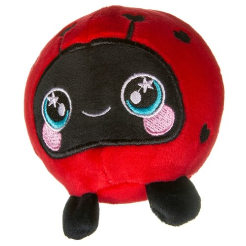 Игрушка-мялка BONDIBON Жамтик Божья коровка (ВВ3591) красный