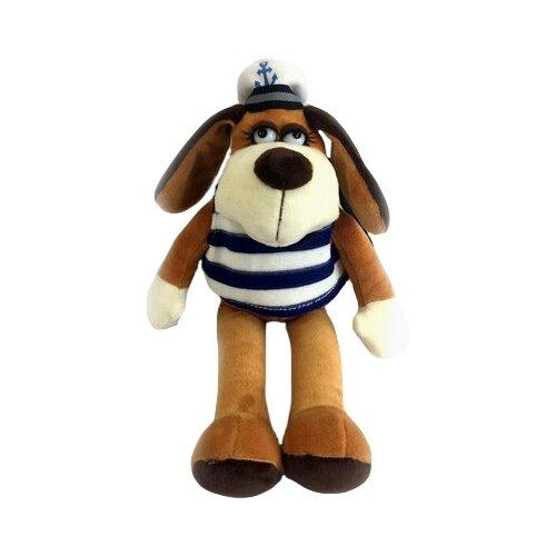 Фото - Мягкая игрушка ABtoys Собака в тельняшке 15 см мягкая игрушка abtoys собака m2032 14 см