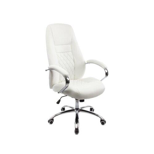 Фото - Компьютерное кресло Woodville Aragon офисное, обивка: искусственная кожа, цвет: белый компьютерное кресло woodville rich офисное обивка искусственная кожа цвет коричневый