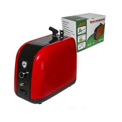 Миниатюрный компрессор с регулятором давления