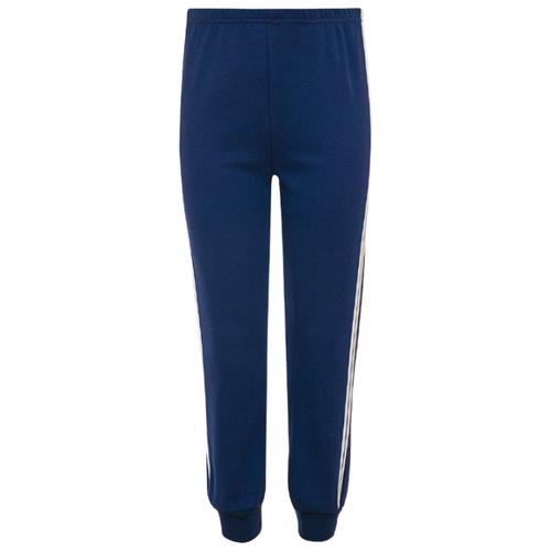 Спортивные брюки M&D размер 128, темно-синий платье m bimbo размер 128 желтый темно синий
