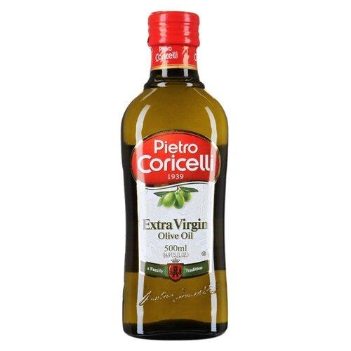 Pietro Coricelli Масло оливковое Extra Virgin, стеклянная бутылка 0.5 л блуза pietro filipi pietro filipi pi028ewcpix9