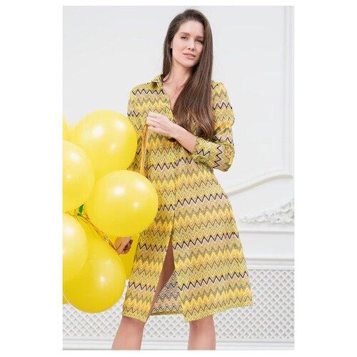 Пляжная рубашка Mia-Mia размер M(46) желтый комбинация mia mia mia mia mp002xw1aq3l