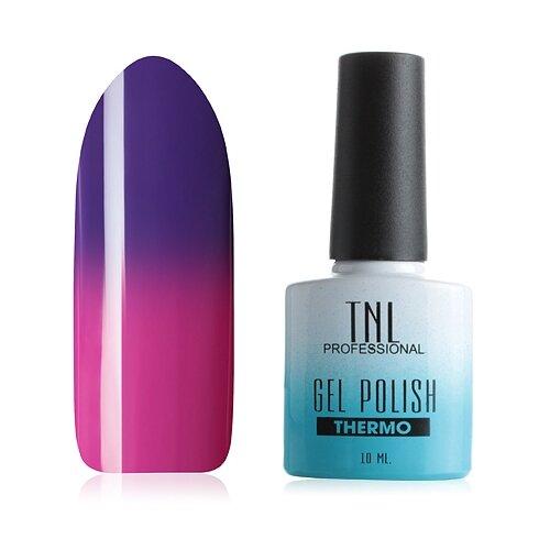 Купить Гель-лак для ногтей TNL Professional Thermo effect, 10 мл, №13 - фиолетовый/фуксия