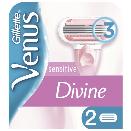 Venus Divine Sensitive Сменные кассеты, 2 шт.