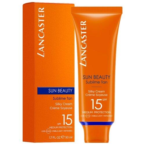 Крем для защиты от солнца Lancaster Sun Beauty Silky Cream Сияющий загар , SPF 15, 50 мл