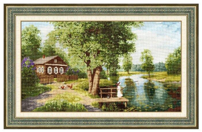 Золотое Руно Набор для вышивания Летняя идиллия 40 х 70 см (ПФ-015)