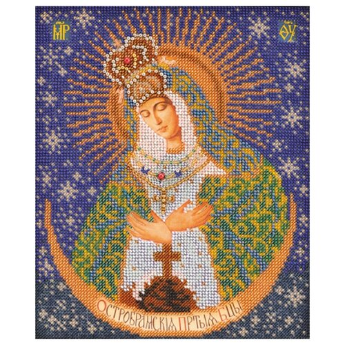 Купить Радуга бисера Набор для вышивания бисером Остробрамская Богородица 20 x 25 см (В-161), Наборы для вышивания