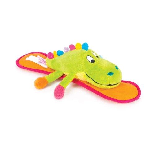 Купить Подвесная игрушка Happy Snail Крокодил Кроко (14HSK04CR) зеленый/оранжевый, Подвески