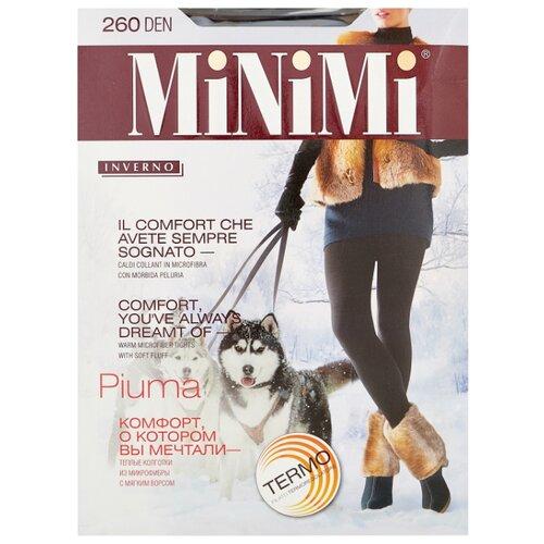 Колготки MiNiMi Piuma 260 den, размер 4-L, nero (черный) колготки minimi lanacotone 180 den размер 4 l nero черный