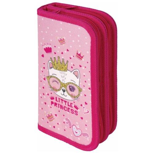 Купить Юнландия Пенал Little princess (229162) розовый, Пеналы