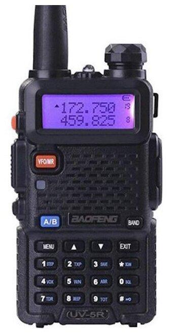 Рация Baofeng UV-5R 8W (2 режима мощности) черный