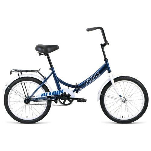 Городской велосипед ALTAIR City 20 (2020) синий 14 (требует финальной сборки) велосипед двухколесный altair city 20 колесо 20 рама 14 белый