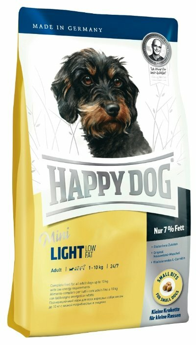 Корм для собак Happy Dog Mini 1 кг (для мелких пород)