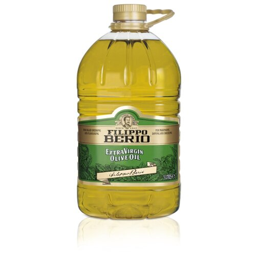 Filippo Berio Масло оливковое Extra Virgin, пластиковая бутылка, 5 л