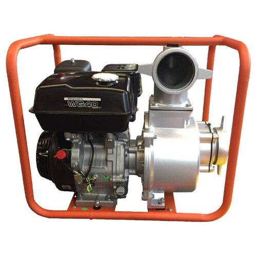 Мотопомпа бензиновая Zongshen WG 40 мотопомпа zongshen xg 10 для чистой воды