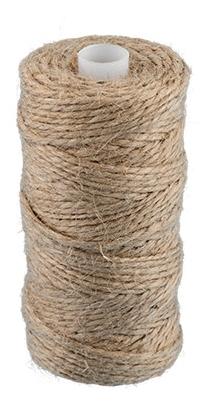 Шпагат джутовый 50 м цвет суровый арт шд2 купить вафельную белую ткань