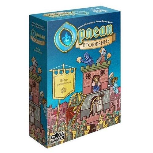 Купить Дополнение для настольной игры GAGA Орлеан: Вторжение, Настольные игры
