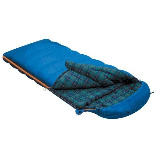 Спальный мешок Alexika Tundra Plus blue с левой стороны