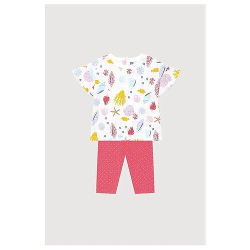 Купить Комплект одежды crockid размер 68, белый/красный, Комплекты