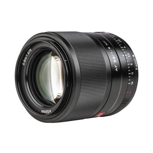 Фото - Объектив Viltrox AF 56mm f/1.4 XF Fujifilm X-mount черный объектив viltrox af 23mm f 1 4 ef m серебристый