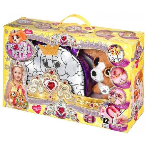 Купить Danko Toys Набор креативного творчества Royal Pet's Модные подружки, набор 3 (RP-01-03), Роспись предметов