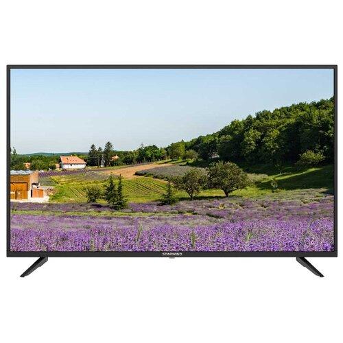 Фото - Телевизор STARWIND SW-LED43UA403 43 (2020) черный led телевизор starwind sw led24r301bt2
