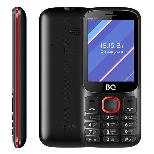 Телефон BQ 2820 Step XL+ черно-красный обод colt bikes 26 559x25 domination sl 32h черно красный 3182m32ph0red