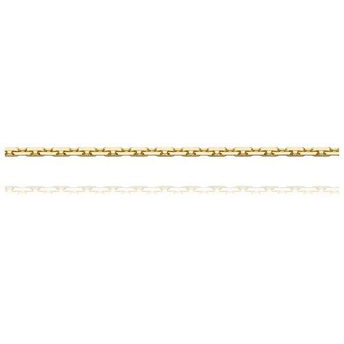 АДАМАС Цепь из желтого золота плетения Якорь одинарный ЦЯ160ВА4-А53, 60 см, 6.43 г