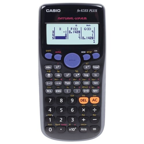 Калькулятор научный CASIO FX-82ES PLUS черный
