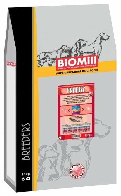 Корм для собак Biomill Breeders Energy (20 кг)