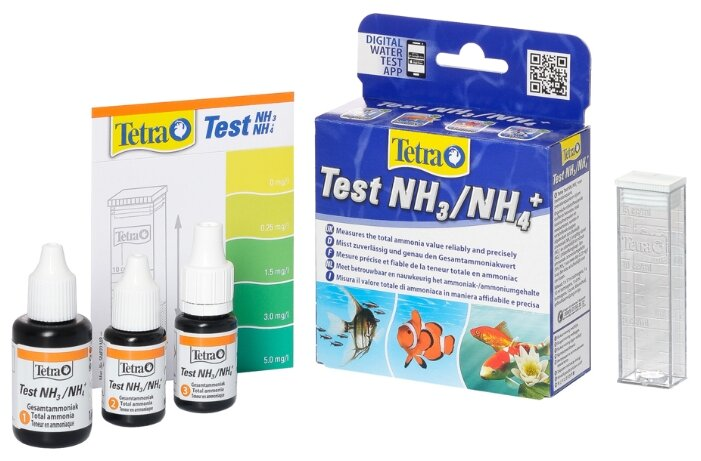 Tetra Test NH3/NH4+ тесты для аквариумной воды