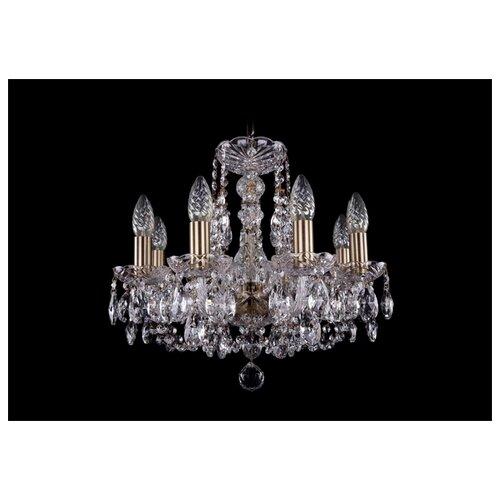 Люстра Bohemia Ivele Crystal 1406/8/141/Pa, E14, 320 Вт подвесная люстра 1406 8 141 pa