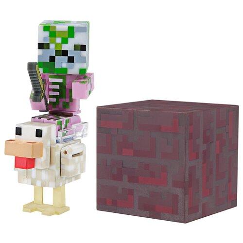 Купить Фигурка Jazwares Minecraft Baby Zombie Pigman Jockey TM19978, Игровые наборы и фигурки