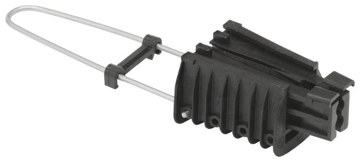 Зажим для натяжения кабеля/троса IEK UZA-14-D16-D25-S