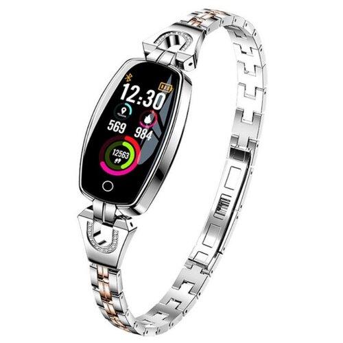 Часы LEMFO H8 серебристый