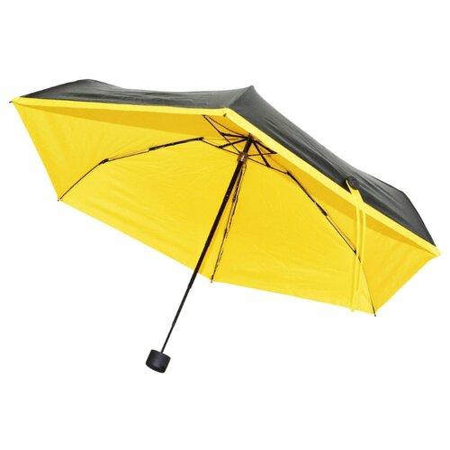 Зонт механика Удачная покупка YS01 черный/желтый зонт механика удачная покупка ys01 черный желтый