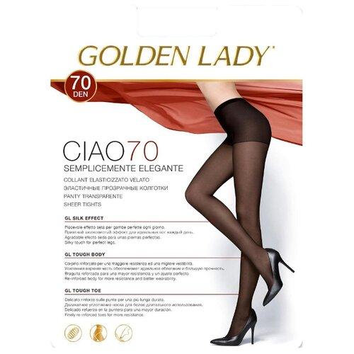цена Колготки Golden Lady Ciao 70 den, размер 4-L, melon (бежевый) онлайн в 2017 году