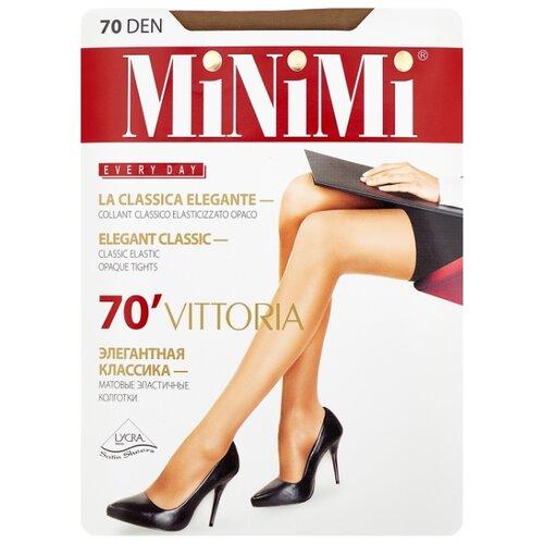 Колготки MiNiMi Vittoria 70 den, размер 2-S/M, daino (бежевый) колготки minimi vittoria 20 den размер 3 m daino бежевый