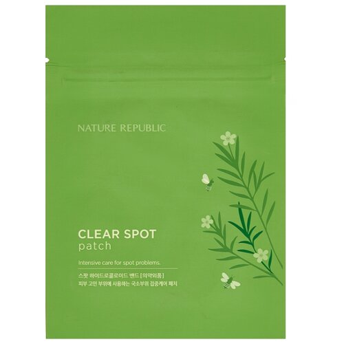NATURE REPUBLIC Патчи против акне Bee Venom Clear Spot Patch, 18 шт акне vprove a cleanew spot clear patch